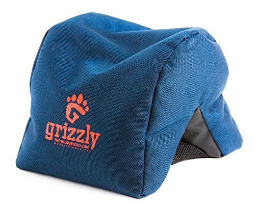 Grizzly Camera Bean Bag (Medium-Blue), Photography Bean Bag, Video Bean Bag, Camera Support, Camera Sandbag, Camera Beanbag, Spotting Scope Support (Camera Bean Bag)