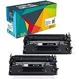 Do it Wiser Compatible Toner Cartridge Replacement HP 26X CF226X 26A CF226A Laserjet Pro MFP M402N M402DN M426FDW M426FDN M402DW M402D M426DW M426 M402 (Black, 2-Pack)