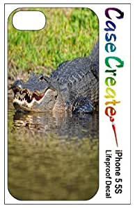 Alligator Decorative Sticker Decal for your iPhone 5 5S Lifeproof Case