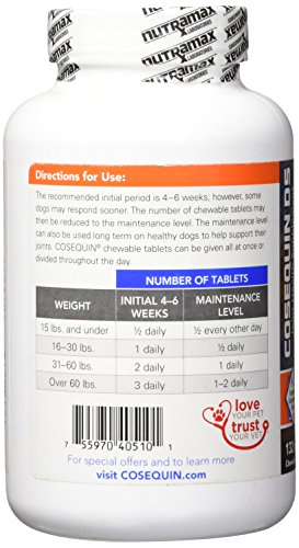 Large Product Image of Nutramax Cosequin DS Plus with MSM Chewable Tablets, 132 Count