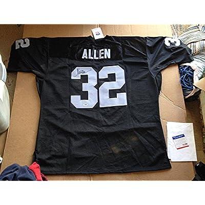 buy online c8266 98830 Marcus Allen Raiders Mitchell & Ness Signed Autograph Auto ...