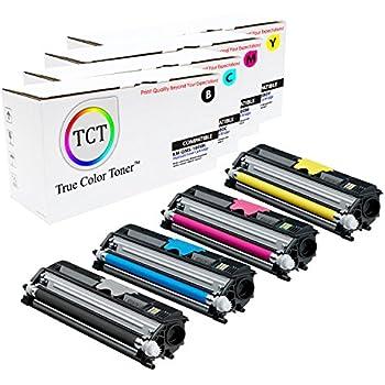 A0V30CF Yellow Toner Cartridge Fits Konica Minolta QMS Magicolor 1600 Printer