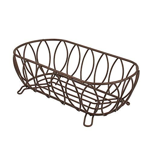 (Spectrum Diversified Leaf Bread Basket, Bronze)