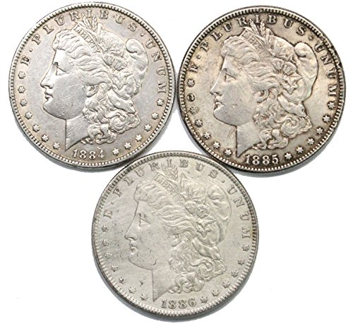 1884-1886 Morgan Silver Dollar Extremely Fine ()