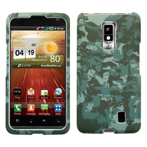 MYBAT LGVS920HPCLZ766NP Lizzo Durable Protective Case for LG Spectrum VS920 - 1 Pack - Retail Packaging - Digital (Lizzo Digital Camo)
