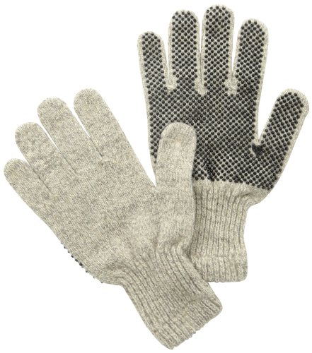 Rag Wool Gloves (Fox River Men's Gripper Ragg Glove, Brown Tweed, Large)