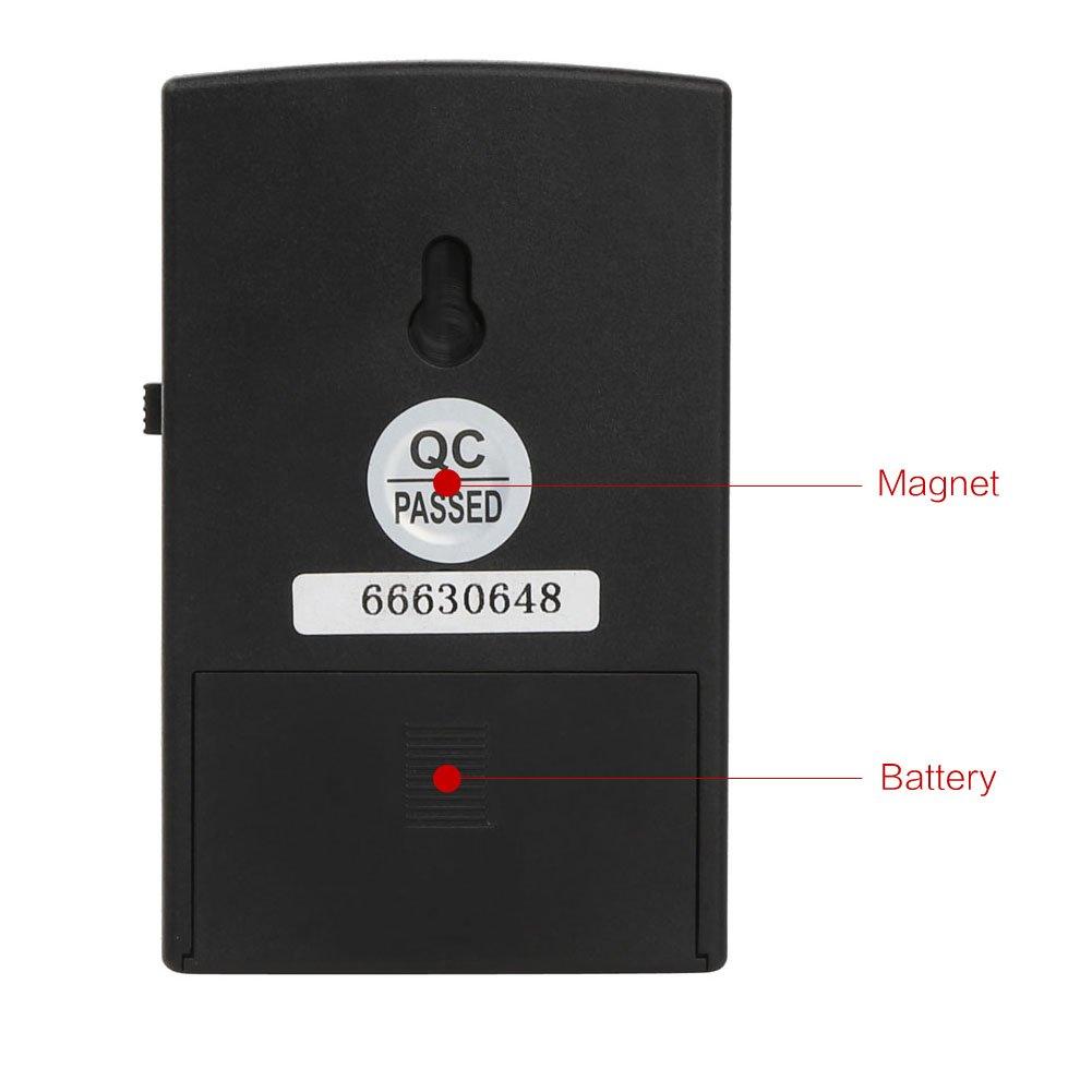 Rupse – 12 V Motocicleta antirrobo Seguridad sistema de alarma inmovilizador mandos a distancia (modo 1)