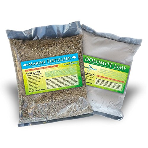 Replanting Kit for EarthBox & Container Gardens – Dolomite Lime + Fertilizer