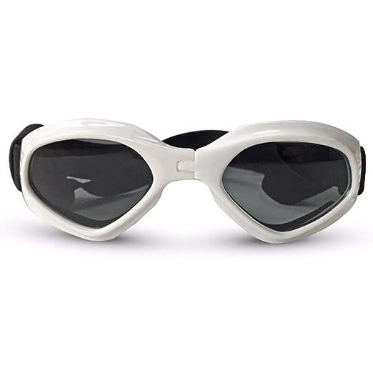 Simis Gafas de Sol Plegables para Perros, Gafas Impermeables ...