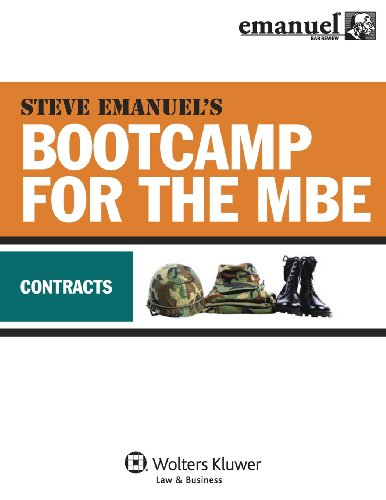 MBE Bootcamp: Contracts (Bootcamp for the (Mbe Boot)
