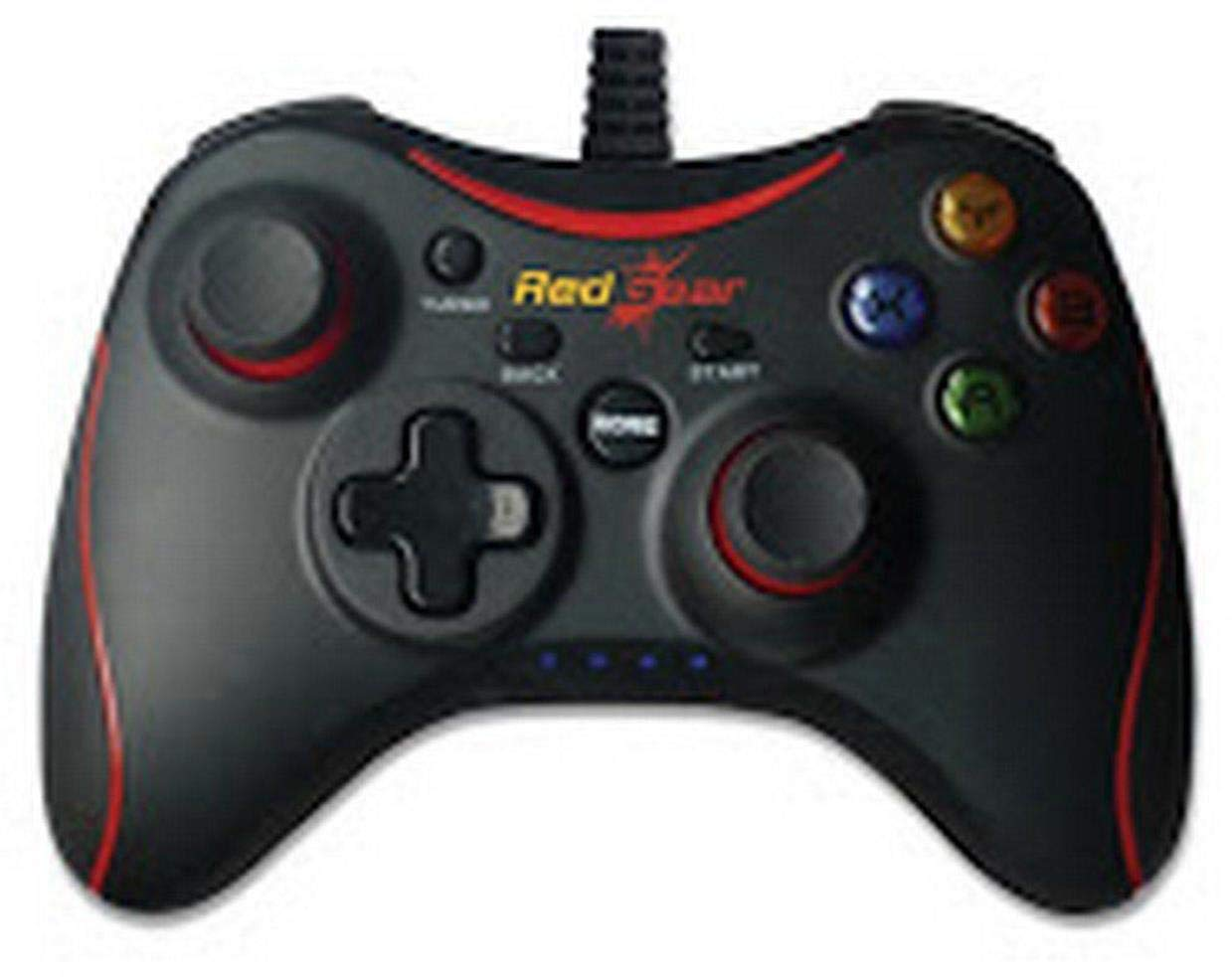 Redgear Pro Series Wired Gamepad Plug and Play Support for