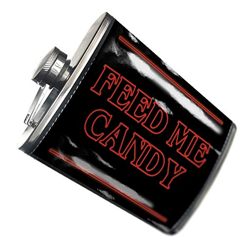 NEONBLOND Flask Feed Me Candy Halloween Strange and
