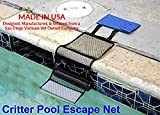 Critter Pool Escape Net-Animal Escape Ramp for