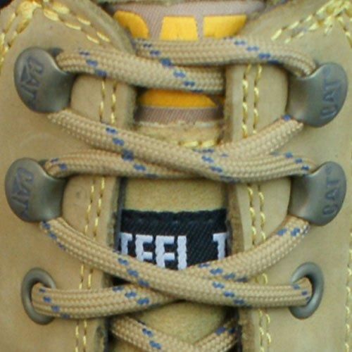 """Caterpillar Freedom Steel Toe S1 6"""" Chukka Botas de cuero de las mujeres Brown"""