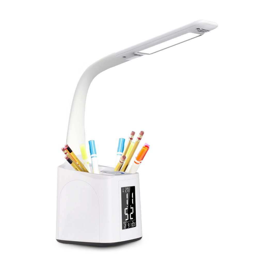 donewin dimmable led desk lamp lcd screen with rh ebay com