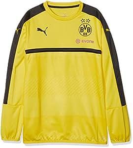 Puma - Sudadera Deportiva para niño con patrocinador del Equipo de fútbol Borussia Dortmund, Infantil, Color Amarillo/Negro, tamaño 176: Amazon.es: Deportes ...