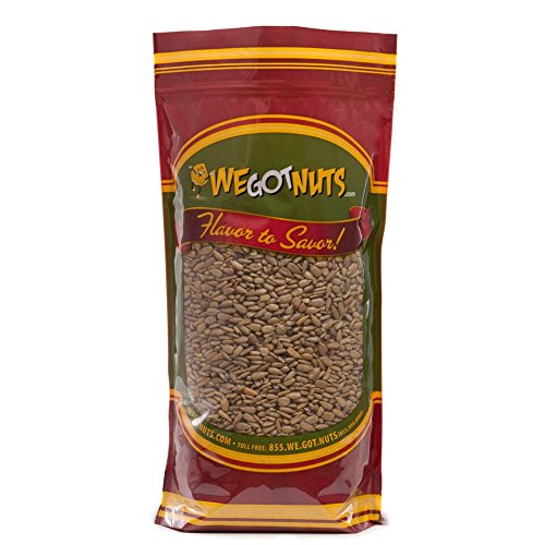 We Got Nuts Sunflower Seeds Roasted & Unsalted (No Shell) 4 LB ()