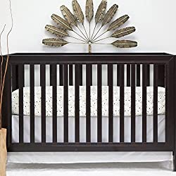 Pam Grace Creations 2Piece Forest Basics Crib Bedding Set, Brown/Tan/Orange