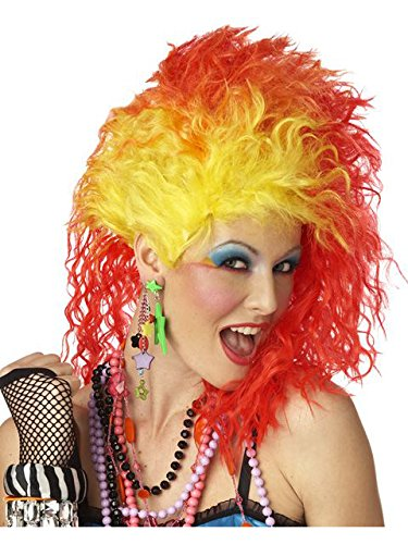 True Colors Wig Costume (80 Rock Star Costumes Ideas)