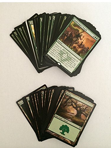 Forest Deck (MTG Magic: The Gathering - Custom Made Starter Decks - 60 Card Green Intro Deck with Rares and Mythic - With Forest Lands)