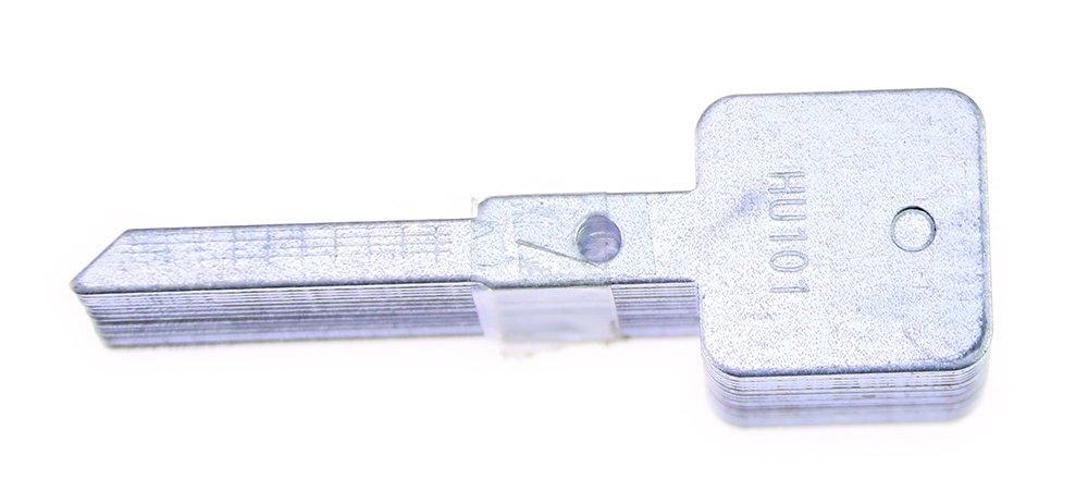 herramienta profesional de cerrajer/ía HU58 DBH Lishi 2-en-1 herramienta de selecci/ón y decodificador de coches Auto Lock Pick Set