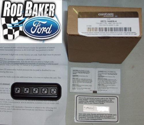 Ford Genuine ES7Z-14A626-A Keyless Entry (Ford Keyless Entry)