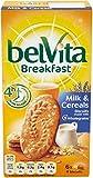 Belvita Breakfast Biscuits - Milk & Cereal (6x50g) - Pack of 6