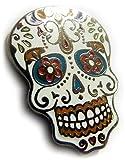 Day of the Dead Dia De Los Muertos Skull Jacket Hat Vest Tie Tack Lapel Pin