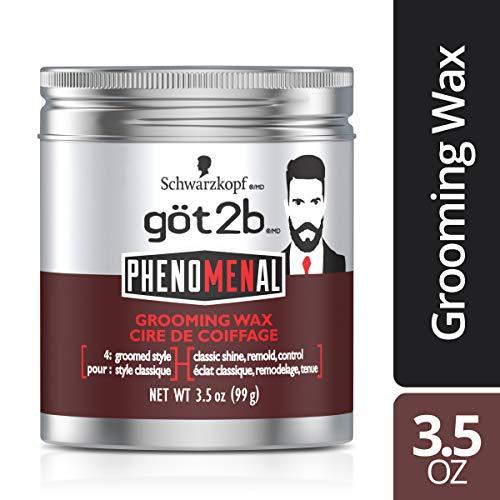 Got2b Phenomenal Grooming Hair Wax, 3.5 Ounce