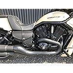 Muscle-Black-Set-Side-Pockets-Harley-Davidson-VROD-V-Rod-Swing-Bag-Black-Leather-Nightrod-Night-Rod-Saddle-Bags