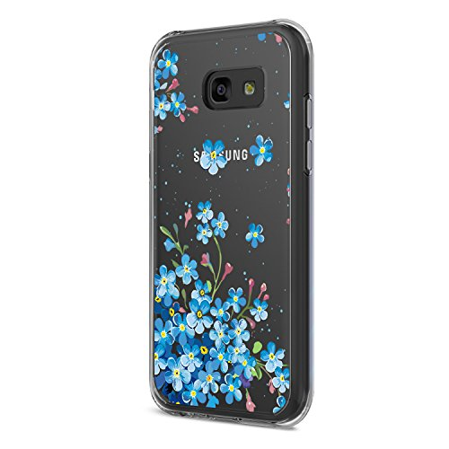 pour Housse 2017 Panda Rsistant Crystal Galaxy Coque Choc Trs Samsung Liquid Coque Galaxy 2017 A5 Absorption Pattern A5 rayures gel Lgre aux 03 de TPU Flexible Silicone pfS1Iw