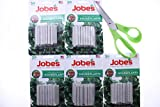 Pack of 5 Jobe's 30 count 13-4-5 Fertilizer Spikes for Houseplants with Free Randomly Chosen Garden Tool (Comes with Free How to Live Stress Free Ebook)