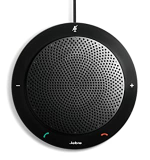 Jabra SPEAK410 USB Speakerphone for Skype, Lync and Other VoIP Calls - Retail Packaging - Black (B007SHJIO2)   Amazon Products