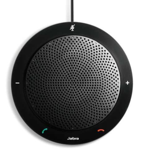 Jabra Speak PHS001U 410 USB Speakerphone for Skype and Other VoIP Calls (U.S. Retail Packaging)