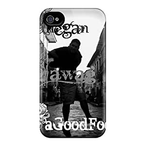 JamesKrisky Iphone 4/4s Shockproof Hard Cell-phone Case Provide Private Custom Colorful Breaking Benjamin Image [ott15931GBQW]