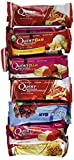 Quest Nutrition Protein Bar, Fruit Lovers Variety Pack, 5 Flavors, 20-21g Protein, 4-7g Net Carbs, 170-200 Cals, High Protein Bars, Low Carb Bars, Gluten Free, Soy Free, 2.1 oz Bar, 12 Count