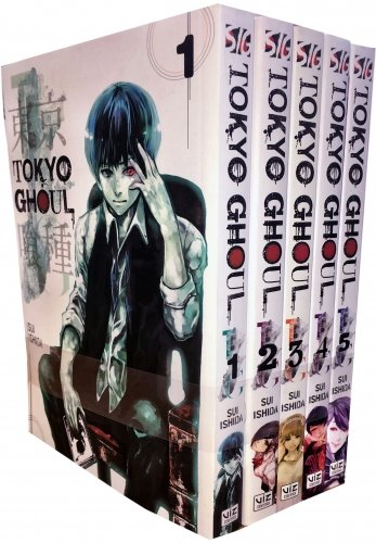Tokyo Ghoul Volume 1-5 Collection 5 Books Set (Series 1)