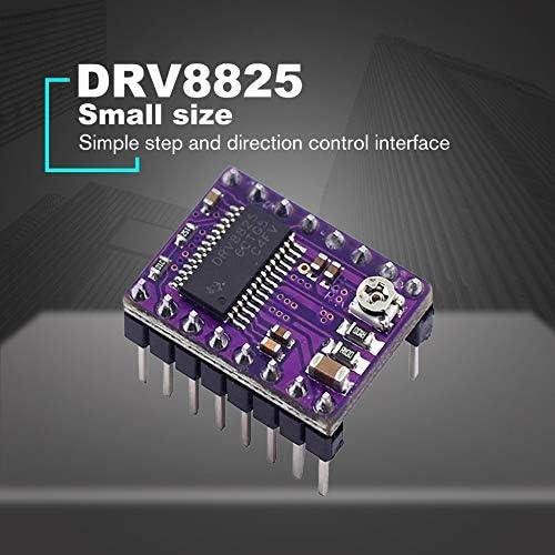 Lironheel01 DRV8825 Stepper Motor Driver StepStick Mute Driver Ramps 1.4 Reprap 4 PCB Module with Heatsink 3D pinter Part Accessories