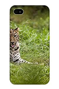 Flyingangela Case Cover For Iphone 4/4s - Retailer Packaging Animal Leopard Protective Case