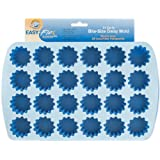 Wilton 2105-4889 Easy Flex Silicone 24-Cavity Bite Daisy Pan