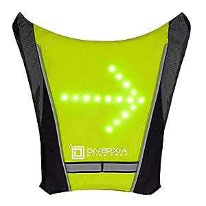 Chaleco Led SafeBiker con indicador de direcciones para ciclistas y corredores. (Cycling/ Running Vest)