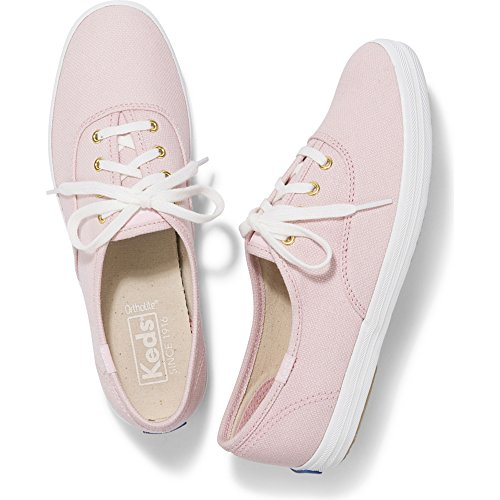 Keds Women's Champion Chalky Canvas Sneaker, Rose Pink, 7 M US - Keds Canvas Sneakers