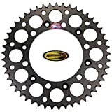 Renthal Rear Wheel Sprocket Black 52T with Keepitroostin Sticker Fits Honda Cr125 Cr250 CR500 Crf250 Crf450 1987-2014