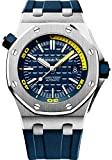 Audemars Piguet Royal Oak Off-Shore Reproduction Diver Watch Automatic Engraved Movement (Blue)