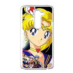 Sailor Moon White Phone Case for LG G2
