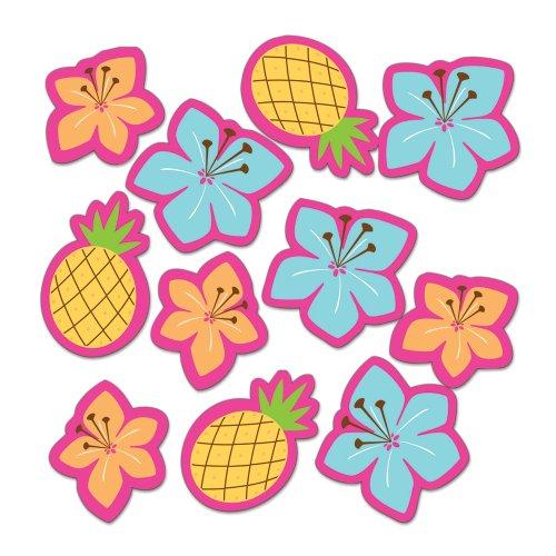Creative Converting Pink Luau Fun Table Scatter Confetti (Hawiian Luau)