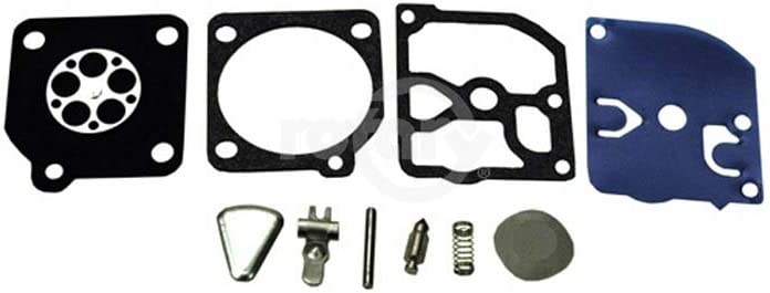 49 H45//49 H55//H51 Carburetor Kit for Zama Fits Husqvarna 40,45 240R,245R and RX saws