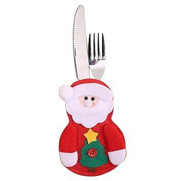 HBOS Navidad Cubiertos Soporte para Cuchillo & Tenedor ...