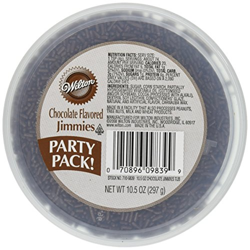 Wilton Chocolate Jimmies Tub