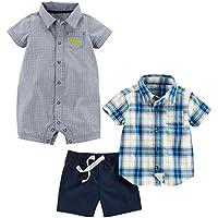 Simple Joys by Carter's Boys' Infant 3-Piece Playwear Set